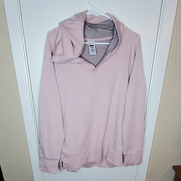 Avia Tops - Blush Pink Hooded Sweatshirt